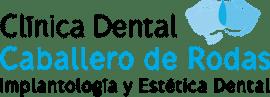 logo clinica dental caballero de rodas