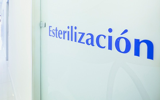 imagen del box de esterilización